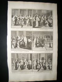 Picart C1730 Folio Antique Print. Religious Catholic 56